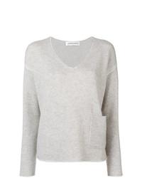 Lamberto Losani Long Sleeve Fitted Sweater