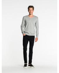 Scotch & Soda Melange V Neck Sweater