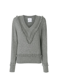 Barrie Romantic Timeless Cashmere V Neck Pullover