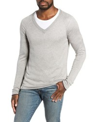 MILLS SUPPLY Salinas Cash V Neck Sweater