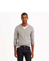 J.Crew Slim Cotton Cashmere V Neck Sweater | Where to buy & how to ...