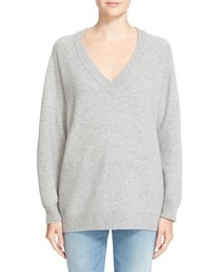 Alexander Wang T By Wool Cashmere V Neck Sweater