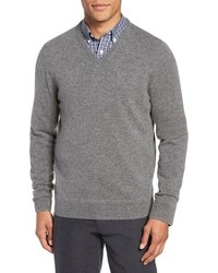 Nordstrom Men's Shop V Neck Cashmere Sweater