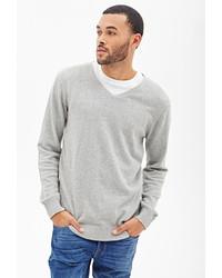 Forever 21 V Neck Knit Sweater