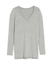 BP. V Neck Long Sleeve Sweater