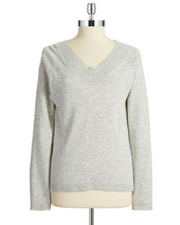 Jones New York V Neck Pullover