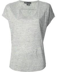 how to wear a grey v neck t shirt 12 looks lookastic. Black Bedroom Furniture Sets. Home Design Ideas