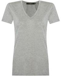 Andrea marques deep v neck t shirt medium 716118
