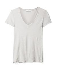 James Perse Casual Slub Supima Cotton Jersey T Shirt