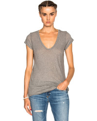 James Perse Deep V Neck Tee