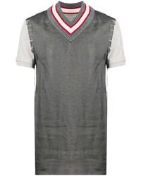 Maison Margiela Frayed Shoulder T Shirt