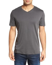 Robert Barakett Georgia Regular Fit V Neck T Shirt