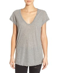 High gauge jersey deep v tee medium 716127