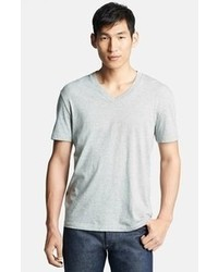 James perse classic v neck t shirt heather grey 0 eu medium 64537
