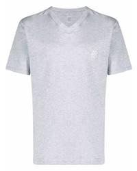 Eleventy Logo Embroidered T Shirt