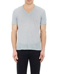 John Varvatos Melange T Shirt Blue