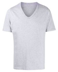 Maison Margiela Printed V Neck T Shirt