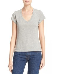 RE/DONE X Hanes 1960s Slim V Neck Tee