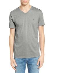 Lacoste Regular Fit V Neck T Shirt