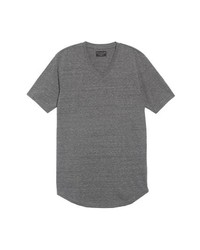 Goodlife Scallop Triblend V Neck T Shirt