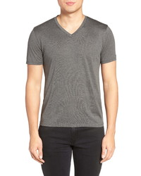 Theory Silk Cotton V Neck T Shirt