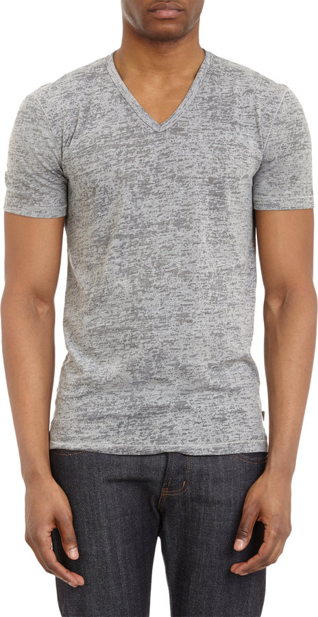 7ae811df6 John Varvatos Star Usa Burnout V Neck T Shirt, $89 | Barneys ...