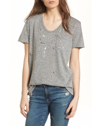 AG Tamara Paint Splatter Pocket Tee