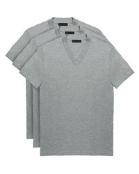 Prada Three Pack Jersey T Shirts