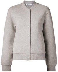 Grey varsity jacket original 1429971