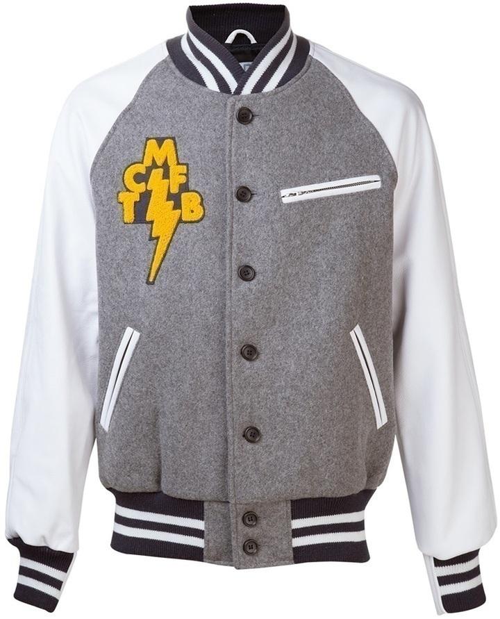 Mark McNairy Bear Tcmfb Varsity Jacket