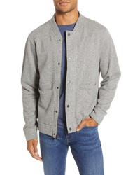 Bonobos Fleece Baseball Jacket