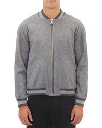 Band Of Outsiders Herringbone Varsity Jacket