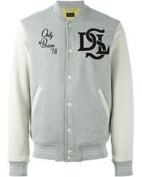 Diesel J Who Varsity Jacket