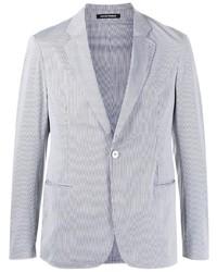 Emporio Armani Pinstripe Single Breasted Blazer