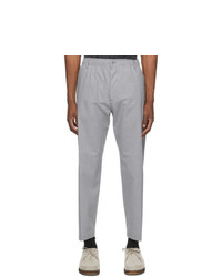 4SDESIGNS Grey Tailored Trousers