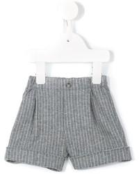 Il Gufo Pinstripe Bermuda Shorts
