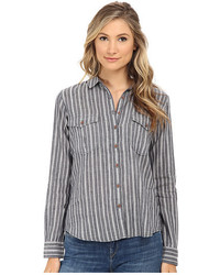 Cotton linen safari inspired shirt medium 431462