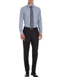 Barneys New York Multi Stripe Dress Shirt