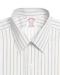 Brooks Brothers Non Iron Milano Fit Tonal Stripe Dress Shirt