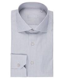 Striped dress shirt medium 5359660