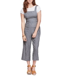 Free People Off The Shore Crop Jumpsuit