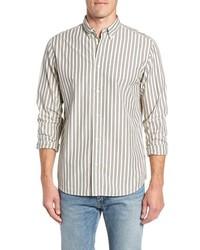 Carl regular fit stripe sport shirt medium 8800269