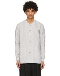 The Viridi-anne Off White Blue Less Shirt