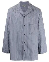 Yohji Yamamoto Striped Long Sleeve Shirt