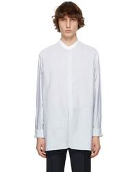 Maison Margiela White Grey Band Shirt