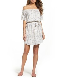 Petite off the shoulder dress medium 4381424