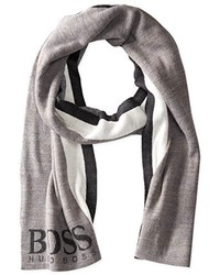Hugo Boss Boss Green Striped Scarf