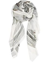 Halogen Bold Stripe Blanket Wrap