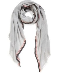 Halogen Stripe Selvedge Scarf