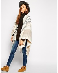 Asos Collection Multi Stripe Cape